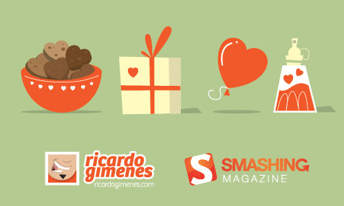 Freebie: St. Valentine's Day Icon Set Preview