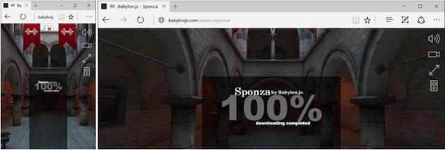 Sponza 100 Percent