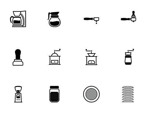 50 Tasteful Barista And Coffee Lovers Icons