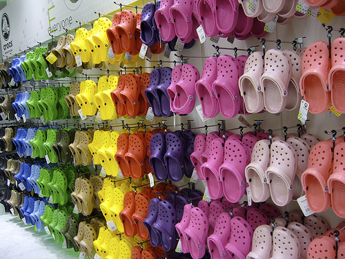 Collection of crocs