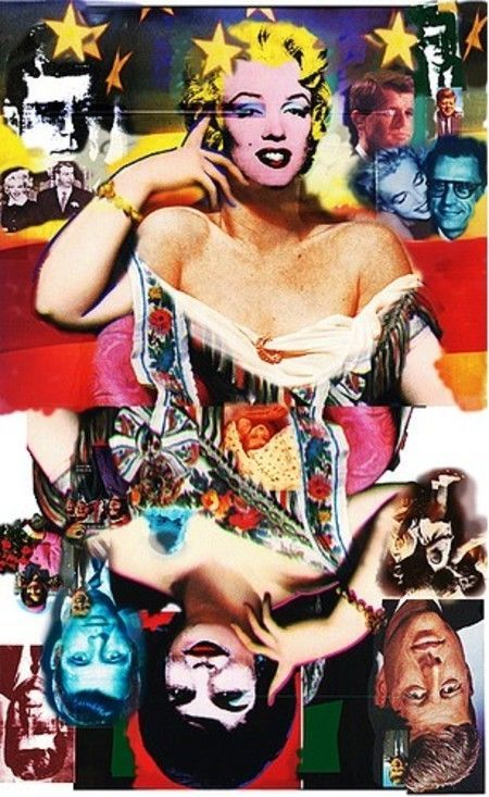 Pop Art Showcase - MarilynMonroe... JackieKennedy