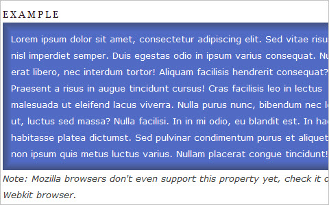 Practical Uses of CSS3