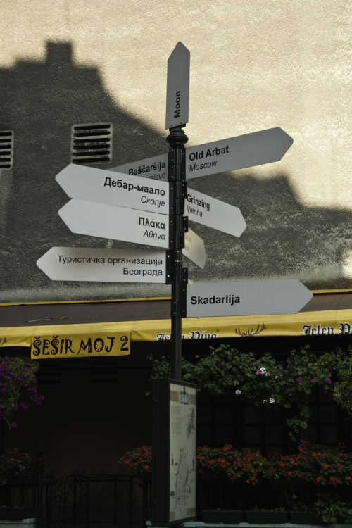 Wayfinding and Typographic Signs - from-here-you-can-go-anywhere