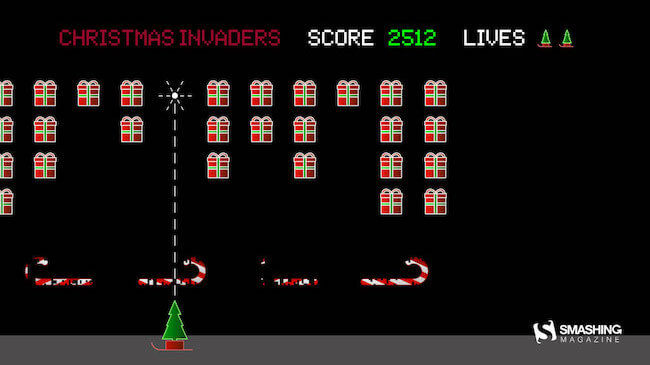 Christmas Wallpaper — Christmas Invaders
