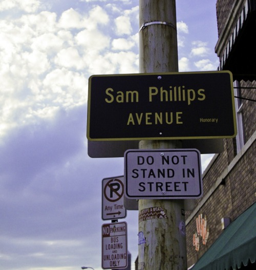 Wayfinding and Typographic Signs - view-from-the-street