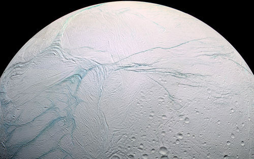 Space Photography - Enceladus up close