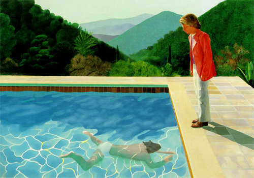 Pool With Two Figures