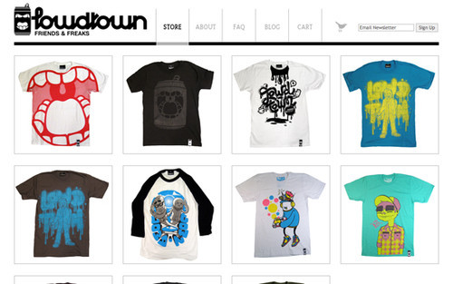 The Big Showcase Of Online T-Shirt Stores — Smashing Magazine