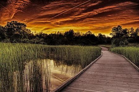 HDR Photos - A cokin sunset