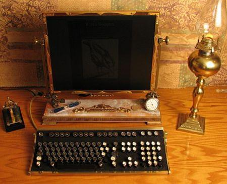 Laptop Designs - Steampunk Monitor For Chic Geeks - Born Rich