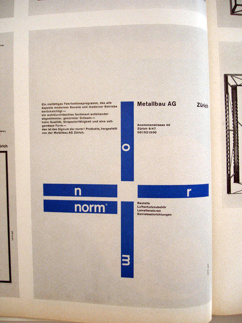 Swiss Graphic Design - TM Typografische Monatsblätter - 1968