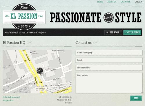5elpassion in Best Practices of Web Form Design