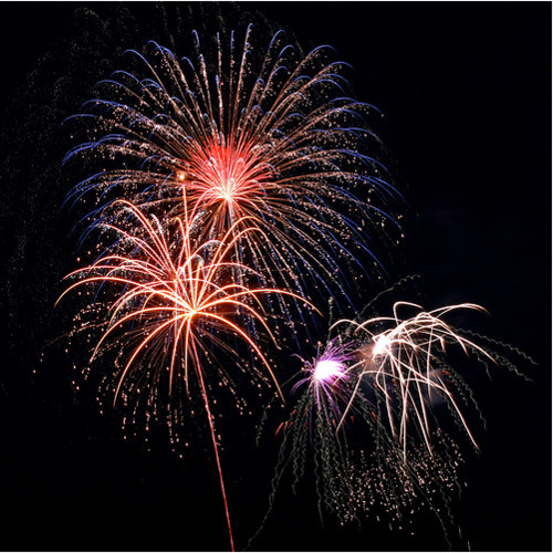 Fireworks Photos - Milton, VT Fireworks '08