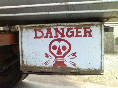 Wayfinding and Typographic Signs - dangerman