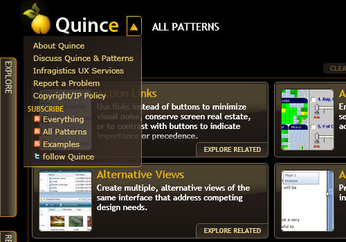 QUINCE: X Patterns Explorer