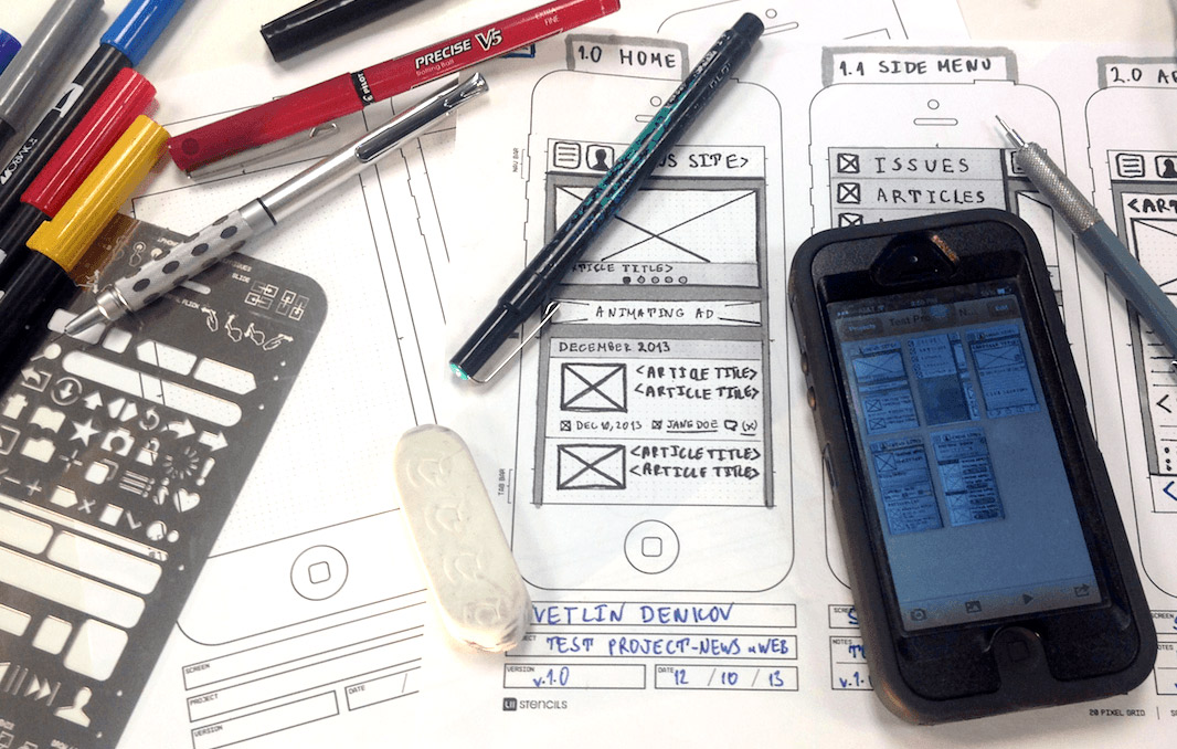 prototyping tools - Mobile Mockup Tools