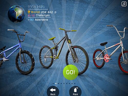 iPad game BMX