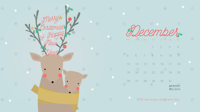 Christmas Wallpaper — All Your Dreams Come True