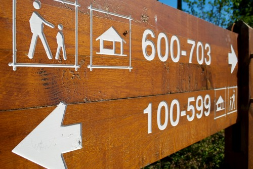 Wayfinding and Typographic Signs - signpost