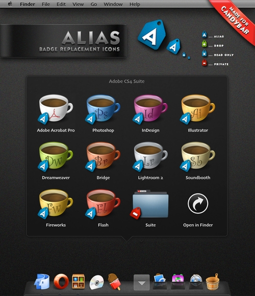 Free Icon Sets - Alias Badges