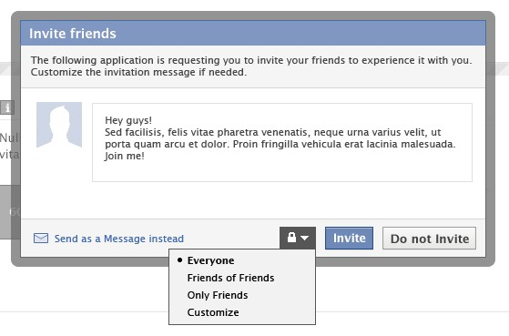 Facebook-App-Authorization-Request