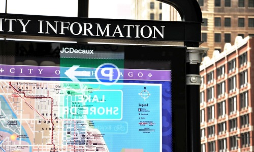 Wayfinding and Typographic Signs - information