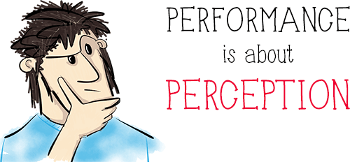 Performance is not about mathematics