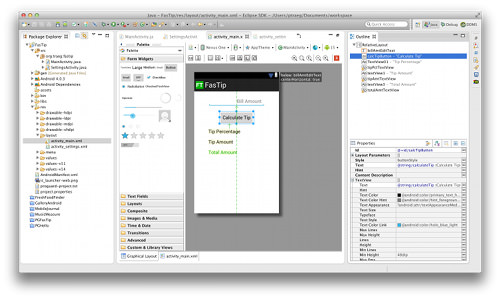 ADT layout editor