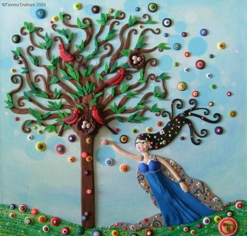 Tammy Durham in Plasticine Art Showcase