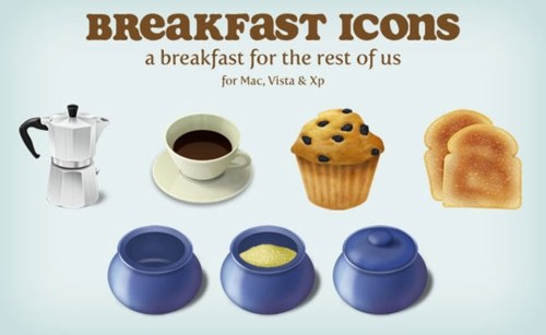 Free High Quality Icon Sets - Breakfast Icons