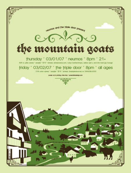 The Mountain Goats by Mike Klay