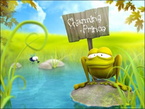 Charming Frog