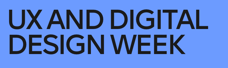 UX And Digital Design Week 2020