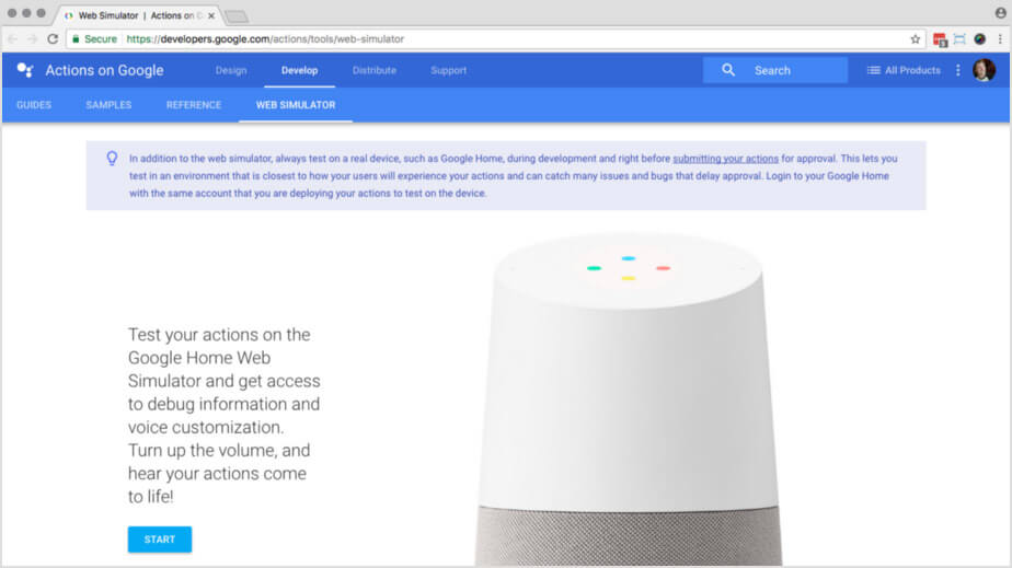 How To Build Your Own Action For Google Home Using API AI