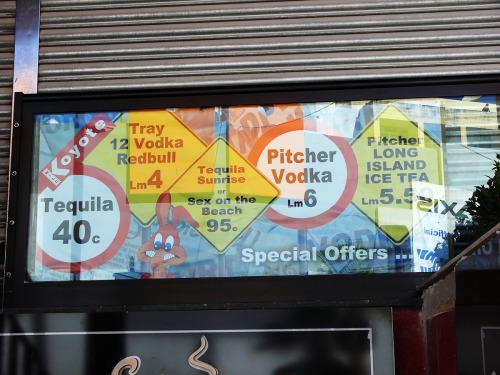 Wayfinding and Typographic Signs - vodka