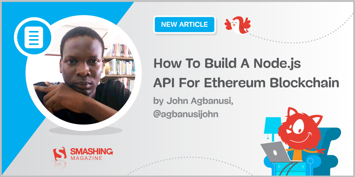 How To Build A Node.js API For Ethereum Blockchain