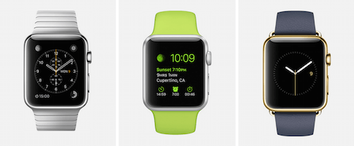 Apple Watch runs watchOS, a simple OS for the watch