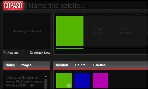 COPASO:Color Palette Software