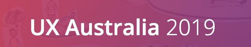 UX Australia 2019