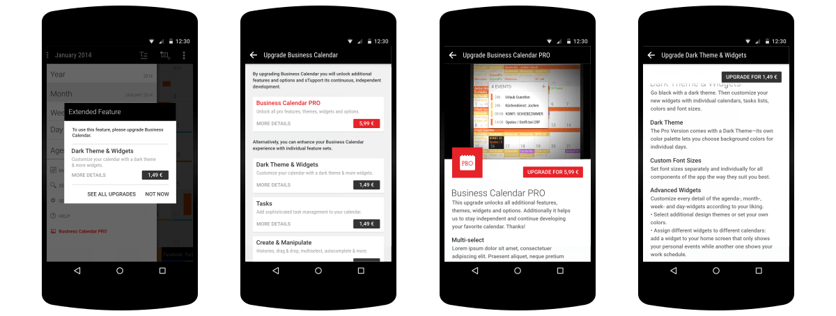 making time redesigning a calendar experience for android