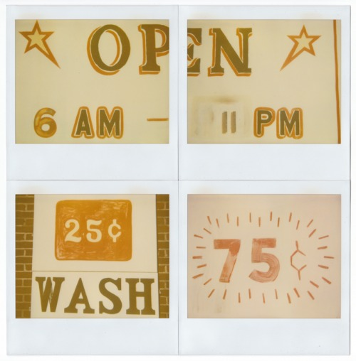 Wayfinding and Typographic Signs - vernacular-typography-polaroids-3