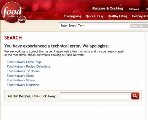 Food Network 500