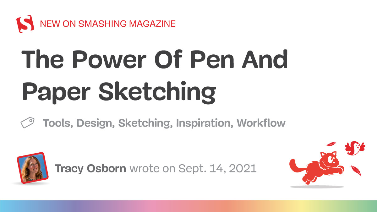 The Power Of Pen And Paper Sketching — Smashing Magazine