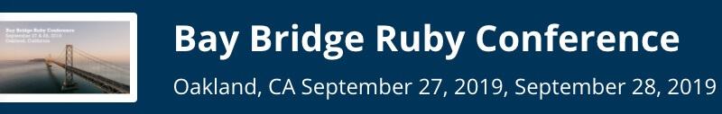 Bay Bridge Ruby 2019