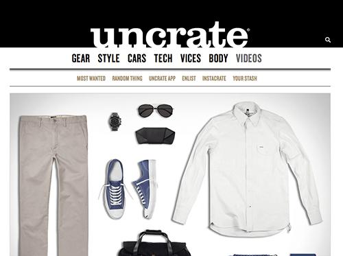 Uncrate website