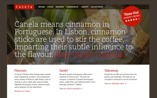 Restaurant image in Showcase of Appetizing Restaurant Websites
