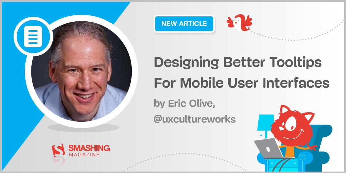 Designing Better Tooltips For Mobile User Interfaces — Smashing Magazine