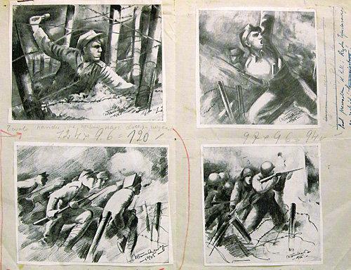 Propaganda poster designs
