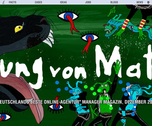 German Web Design - jung von matt
