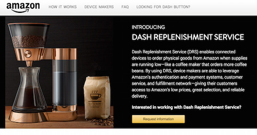 Amazon's Dash Replenishment Service